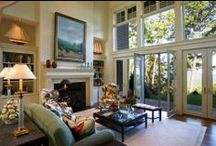 Living Rooms - Carolina Mountain Real Estate / www.carolinamountainre.com