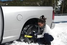 Trac-Grabber - Get Vehicles Unstuck / Vehicle Got Stuck in mud, snow or sand? Use Trac-Grabber to get unstuck! DON'T WORRY ABOUT GETTING STUCK IN MUD OR SNOW ANYMORE