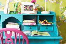 Decorating with bright colours