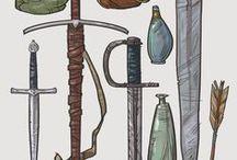 art ref: weapons