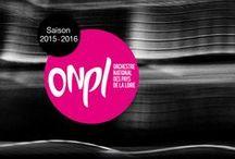 Les affiches de saison de l'ONPL / Découvrez l'évolution graphique et esthétique de l'ONPL au fil des saisons et des différents directeurs musicaux...