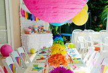 Party Inspiration / Ideas and inspiration for party planning