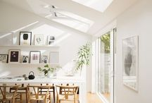A minimalist home / Interior design ideas for a clean white minimalist home on a budget