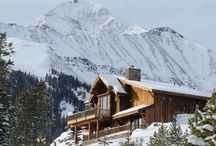 Cabin Fever / Amazing log and timber homes.