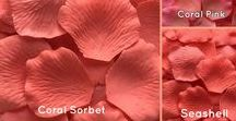 Silk Rose Petals by Color / Add color to your wedding with silk rose petals in over 90 beautiful colors.
