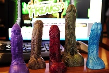 Halloween Toys / There are spooky Halloween-themed sex toys, who would have thought it?