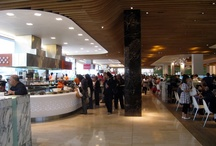 Foodcourt / The food court provides a compelling food experience that