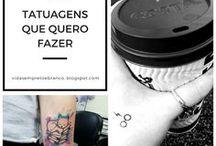 Tatuagens | Tattoo / Inspirações de tatuagens