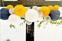 Yellow & Grey Weddings