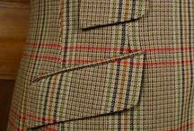 Vintage British Tweeds / A collection of the myriad Great British tweeds that pass through the corridors at Savvy Row!