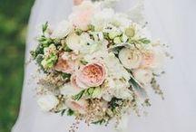 kwiaty na ślub- pastele