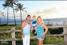 Maui Family Portrait Photography / Family Portrait Photography taken on beautiful Maui beaches and landscapes by Capture Aloha Photography.  www.capturealoha.com