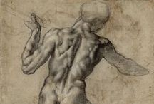 Michelangelo / The most beautiful drawings of Michelangelo and his admiring artist-colleagues coming from the Albertina