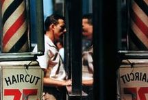 PHOT Saul Leiter / Saul Leiter (December 3, 1923 – November 26, 2013) was an American photographer and painter whose early work in the 1940s and 1950s was an important contribution to what came to be recognized as the New York School of photography. His work is in the collections of many prestigious public and private collections. / by RGC Higher Photography