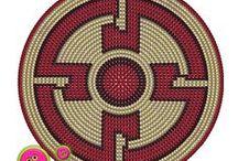 Base mochila Wayuu