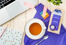 KEEP CALM & SIP ON / Keep calm and squeeze more out of each moment with a Signature Collection tea!