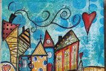 Crafts- Handmade Creations- Decorations- Cute ideas / Χειροποίητες δημιουργίες - Διακόσμηση