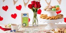 LOVE     IS     IN     THE     AIR / Bring a little romance to your favourite brew with Valentine's Day inspired tea parties, recipes and other idea to woo someone special.