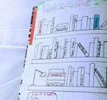 Bullet Journal | Bujo / Inspirações para Bullet Journal (BUJO), com doodles, páginas diárias, semanais e mensais.