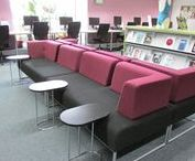 Falmouth & Penryn Libraries / Library interiors and extreriors.