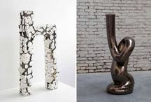 Ritual voids, Officine Saffi Exhibition, 29/09/2016 / Officine Saffi is pleased to present Ritual voids. An exhibition that sees two artists in comparison, Irina Razumovskaya & Mariko Wada. Ritual voids explores the act of creation that lies at the origin of their work; they are two sculptors, two ceramists, and their activity is a liturgy of purity and constant initiation. Not just a sequence of gestures, but motion consisting of the countless ventures of an interior world, actions that transform them into biomorphic and metamorphic objects.