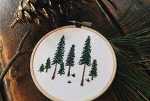 Embroideries / ideas and inspirations for embroidering