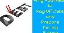 Debt - In Debt, Paying Off Debt, Money, Finances / Debt | Paying off debt | Getting out of debt | #debt #finances #money