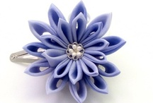 fabric flowers n craft / by Shereen S