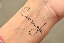 Tattoos I want / by Bry Ormshaw