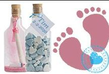 Geboortekaartjes & bedankjes / Een geboortekaartje van flessenpost biedt