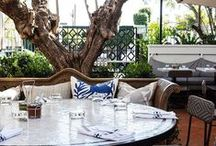 outdoor ideas / decorating outdoor spaces