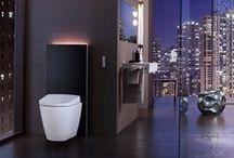 Tendance : WC suspendus / Avec leurs courbes élégantes et raffinées, les WC suspendus n'en finissent plus de nous séduire !