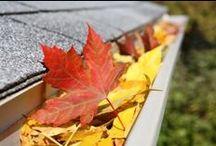 La gouttière au fil des saisons / Retrouvez les #gouttières dans tous leurs états... Au fil des #saisons elles affrontent la #pluie, le #vent, les #feuilles d'#automne et parfois même la #neige.