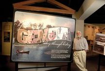 Geneva History Museum / Geneva History Museum is passionate about collecting, preserving and educating the community about Geneva's rich history.  Explore award-winning exhibitions with rare artifacts, participate in fascinating programs, and find unique Geneva gifts.  Belong to Geneva's story by supporting the Museum!