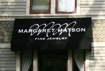 Margaret Matson Fine Jewelry / 312 S 3rd StreetGeneva, IL 60134   (630) 457-4705 The best part of the jewelry business is the opportunity to be a part of the happy milestones that mark other's lives….engagements, weddings, anniversaries…these occasions are frequently associated with special pieces of jewelry which years. - Margaret Matson (http://www.matsonjewelry.com/)