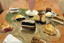Prescott Junction Desserts / Here at Prescott Junction, we have a huge variety of desserts including pies, cakes, cheesecakes, hot fudge sundaes, and many more.