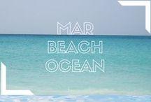 Mar Beach Ocean / Board dedicado al amor por las propiedades con vista al mar