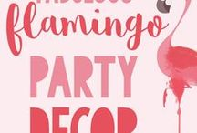 Girls Party Ideas / Whether she is into unicorns, princesses, superheroes, fairies, mermaids, glamping, roller skating, sleepovers or tropical sunshine parties - this is the place to get all the BEST ideas for Girl's Parties! Enjoy!