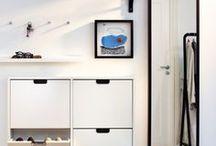Hallway / Storage and design.