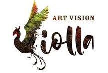 Art Vision Violla - tablica inspiracji