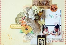 SCRAPBOOK INSPIRATION / by Liz Richards