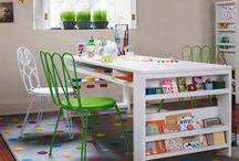 Pretty Playrooms / FUNctional designs to inspire exciting and creative playrooms!