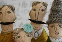 Dolls,poupées,panenki / by Mujeres Al Borde