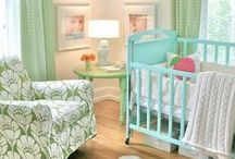 Adorable Nursery Décor / These spaces are so perfect for a new baby - inspiring color pallettes, themes and more for your nursery planning.