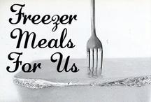 Food - Freezer Meals / by Linda H.