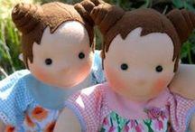 Sew Cute - Cloth Dolls / by Linda H.