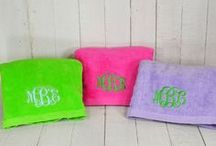 Dry Off with a Personalized Towel / Bath time will be their favorite time of day with these fun & functional personalized ribbon and hooded towels!  / by Baby Be Hip