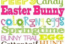 EASTER...Hoppin Down the Bunny Trail
