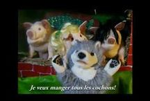 French videos for kids / videos with stories, songs, dance, footage of and for  francophone children