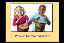 French Playlist: songs for students / Videos for songs written for young learners of French by artists such as Alain Le Lait, Charlotte Diamond, and Matt Maxwell